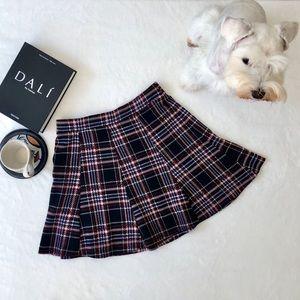 Bershka Platted Mini Skirt ✨